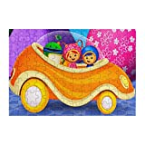 Team Umizoomi Jigsaw Puzzles for Adults Kids 98 Piece Creative Gifts Large Puzzle Game Artwork Decorative Intellectual Wooden Puzzle 11.4x7.8 Inch