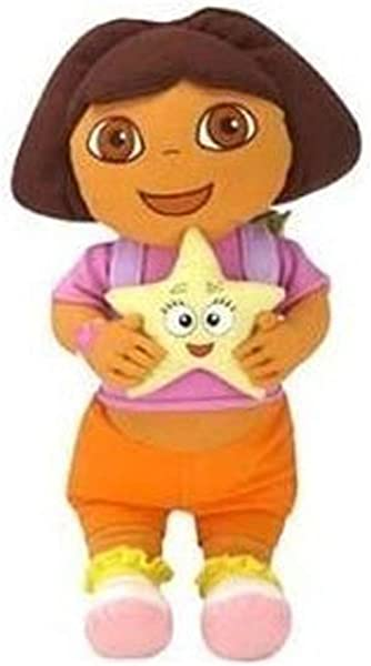 Nick Jr Dora The Explorer Cuddle Pillow Dora Star Catcher Plush