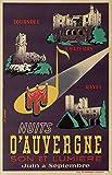 Nuits d'Auvergne Poster, Reproduktion, Format 50 x 70 cm,