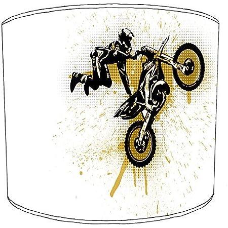 Premier Lighting Ltd 12 inch Motocross Print Abat-Jour 7 pour Un plafonnier