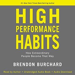 High Performance Habits cover art