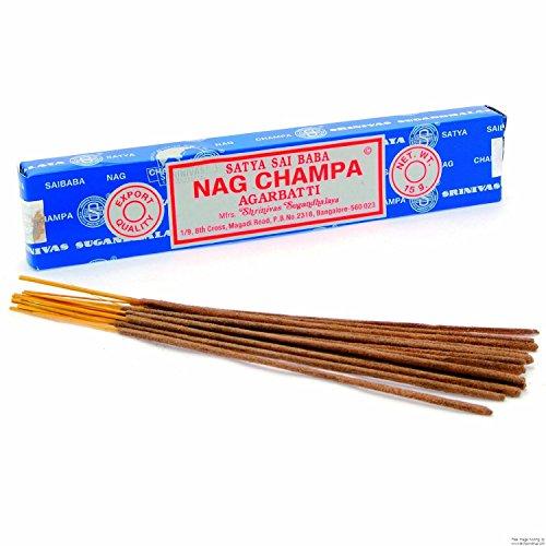 Satya Nag Champa Räucherstäbchen 15g, 2 packs = 24 sticks