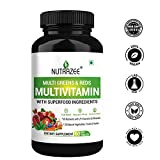 Nutrazee Multi Greens & Reds Multivitamin with Superfood Natural Fruit, Vegetable & Herbal