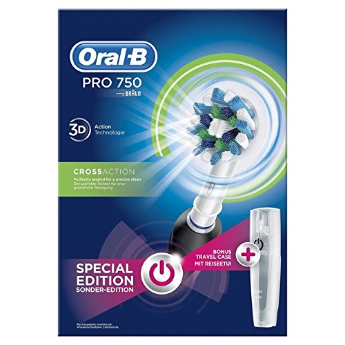 Oral B Cepillo Eléctrico Pro 750 CrossAction 3d