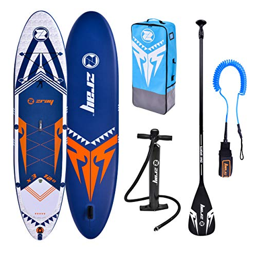 ZRAY SUP X-Rider 12' - Stand Up Paddle Gonflable - Charge...