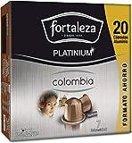 Café Fortaleza Platinium – Cápsulas Compatibles con Nespresso, de Aluminio, Café de Colombia, Puro Sabor, 100% Arábica, Tueste Natural, Pack 8x20 - Total 160 uds
