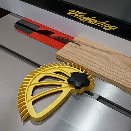 Premium Hedgehog Spiral Featherboard for Quicker, Easier, and Safer Workflow   Featherboard for Table Saws, Router Tables, and Band Saws