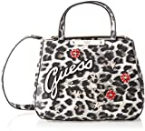 Guess Britta, Women's Top-Handle Bag, Multicolour (Leopard/Leo), 28.5x22.5x12 cm (W x H L)