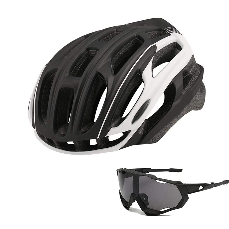 行列水平データ自転車 ヘルメット SFBBBO 2020マウンテンバイクロードバイク安全乗馬ヘルメットテールナイト乗馬テールライトバイクアクセサリーML54-61 color3