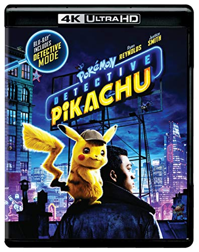 Pokemon Detective Pikachu (4K Ultra HD + Blu-ray + Digital) (4K Ultra HD)