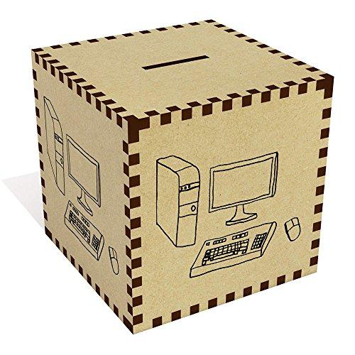 Azeeda Groß 'Desktop-Computer' Sparbüchse / Spardose (MB00040904)