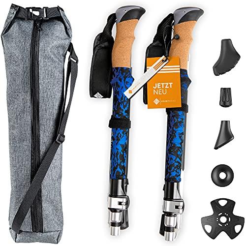 HrubyRoad® Bâtons de marche nordique ultra stables en kit...
