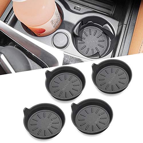 WINKA Car Cup Holder Coasters, Silicone Coasters for Cup Holders, Universal Vehicle Cup Holder Coasters 4 pcs