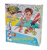 Giochi Preziosi–Bolígrafos IDO3D para Creaciones Verticales, 4 Unidades, Dibujos y Creaciones de 3Dimensiones Juego Color World para Chico