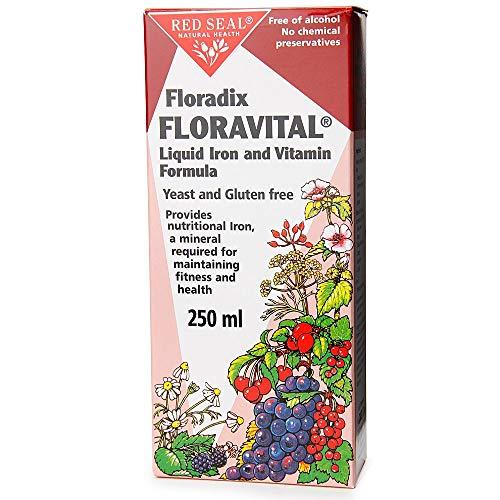 Floradix Floravital vloeibare ijzer formule YF GF - 250ml