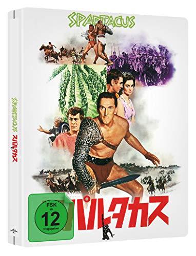 Spartacus - LIMITED JAPANESE STEELBOOK (4k UHD) [Blu-ray] (exklusiv bei Amazon.de)