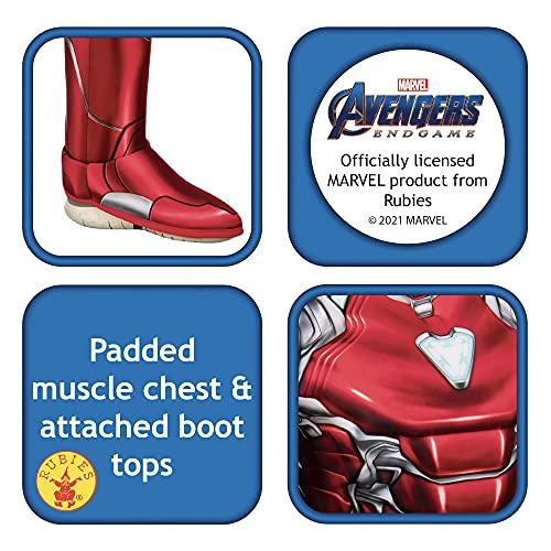 Rubie's Avengers 4 Deluxe Iron Man Disfraz y máscara