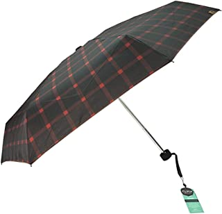 Sun Protection UV Umbrellas Retro Lattice Umbrellas Ultra Lightweight Shoes Folding Umbrellas Three Colors Available HYBKY (Color : Red)