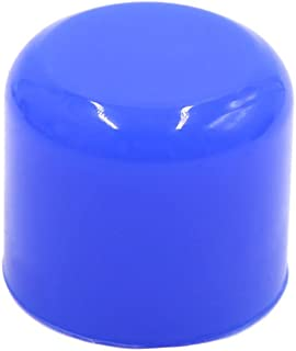uxcell 32mm 1.25 inches Silicone Blanking Cap Intake Vacuum Hose Tube End Bung Blue