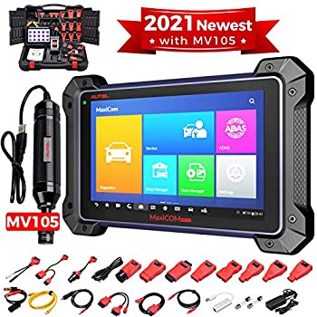 2021 Autel MaxiSys Pro MK908P Auto Diagnostic Scanner ,Same as MaxiSys Elite Upgraded of MS906TS/MS906BT/MS908/MK908 with Programming Coding Active Test 30+ Service MV105 Video Inspection