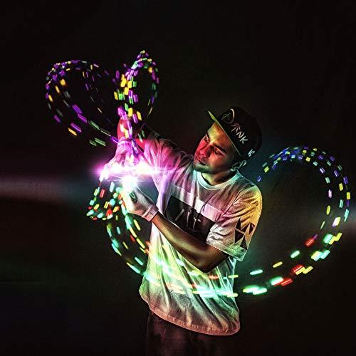 EmazingLights Elite Flow Glove Set Light Up Finger LED Rave Glow Gloves