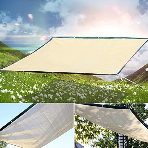 JIESD-Zღ Paire de Voile rectangulaire rectangulaire Anti-UV pour extérieur Patio Jardin - 2 x 3 m