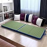 Colchón Plegable Triple 5 cm de espesor tatami colchón plegable plegable futón suave Estudiante japonesa compartida de la...