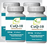 CoQ 10, Co Enzyme Q10 500 mg 360 gélules (gélules), 1 an...