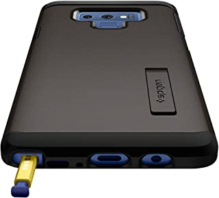 Galaxy Note 9 Case, Spigen Tough Armor with Kickstand and Extreme Heavy Duty Protection Gunmetal