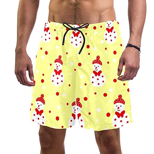 男性用アスレチックショーツ男の子水泳パンツクイックドライゴムバンドビーチメッシュライニングアウトドアウォークビーチ水着