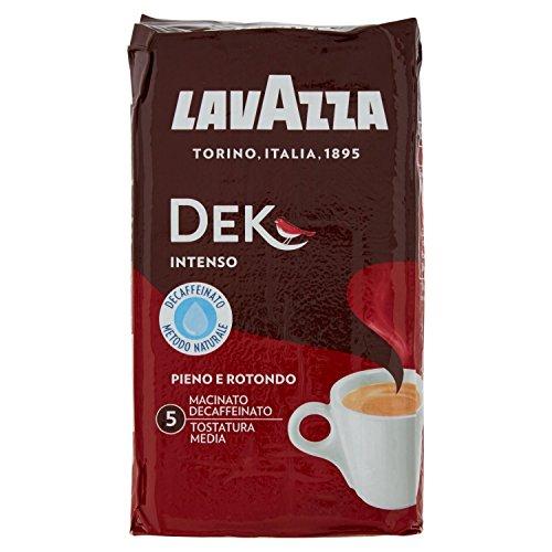 Lavazza Caffè Macinato Decaffeinato Dek Intenso - 250 grammi