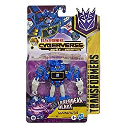 13.5-cm Soundwave figure: Warrior class soundwave figure is 13.5-cm tall Repeatable attack move: Convert the evil soundwave to activate his signature laserbeak blast move. Fun attack move can be repeated through easy reactivation steps 2-in-1 convert...