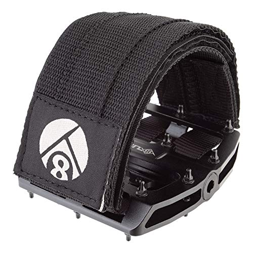 Origin8 Pro-Grip II Pedal Straps, Black