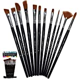 Crafts 4 All Paint Brushes 12 Set