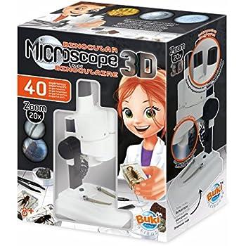 BUKI MR500 - Microscopio Binocular 3D
