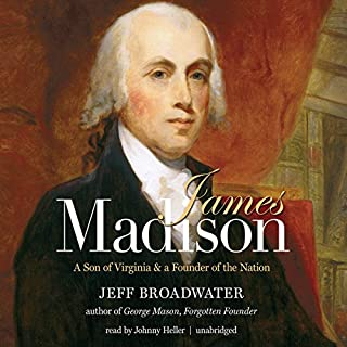 James Madison audiobook cover art