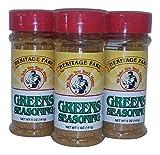 Heritage Fare Greens Seasoning 5 oz-Pack of 3