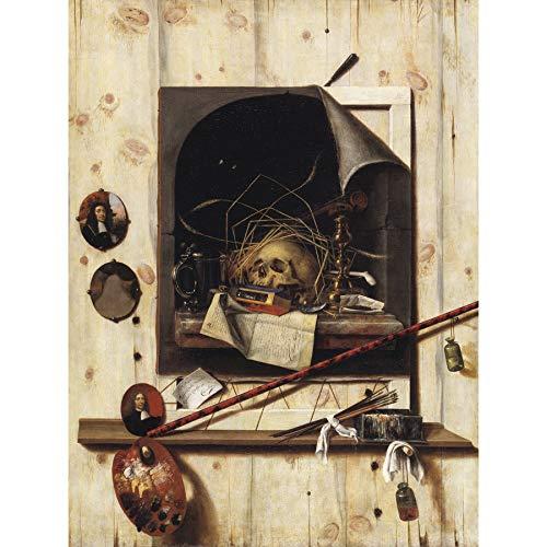 FINE ART PRINTS Gysbrechts Studio Wall Vanitas Stillleben Trompe L'Oeil Gemälde, groß, XL