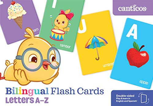 Bilingual Flash Cards: Letters A-Z