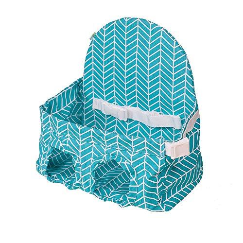Huhu833 Kleinkind Einkaufswagen Sitz, Baby tragbare Supermarkt Warenkorb Warenkorb Warenkorb Baby Seat (Blau)
