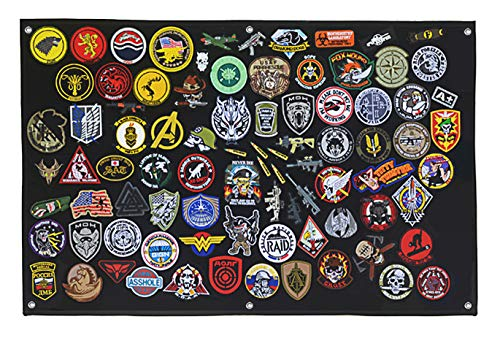 Tactical Patch Display Holder Panel Board for...