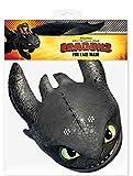 How to Train Your Dragon Dragons - Drachenzähmen leicht gemacht 2, 2 - Toothless Ohnezahn - Maske Papp Maske, aus hochwertigem Glanzkarton mit Augenlö