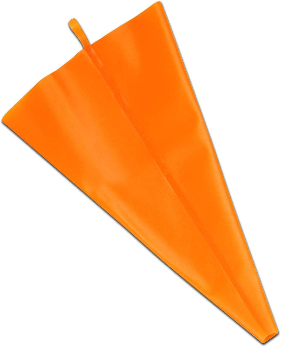 Fat Daddio's Excellence Pastry Bag Orange Los Angeles Mall 20 Inch Silicone