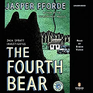 The Fourth Bear audiobook cover art