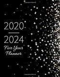 Five Year Planner 2020-2024: Monthly Notebook, Book, Planner, Organizer, Calendar To Organize Your Monthly And Yearly Agenda, Schedule 2020, 2021, 2022, 2023, 2024