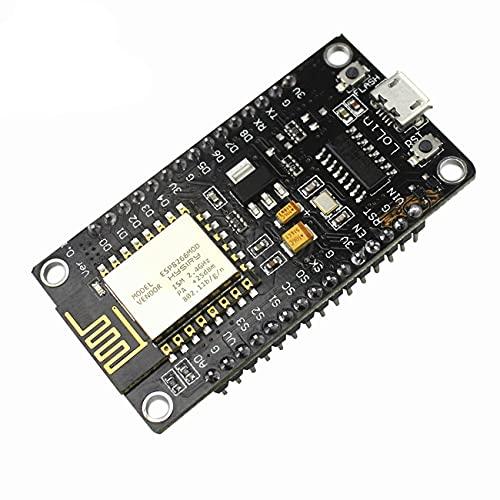 Módulo inalámbrico CH340 NodeMcu Lua Puerto Serie Módulo WiFi Internet of Thing Development Board basado en ESP8266
