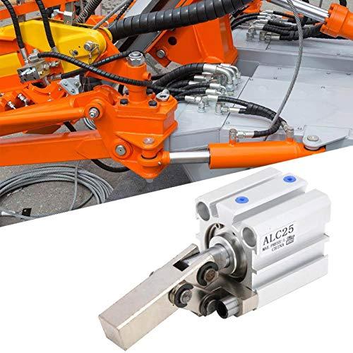 Cilindro neumático Cilindro de aire Strong Power M5 Ajuste de precisión para fábrica para equipos neumáticos(ALC25 without magnetic)