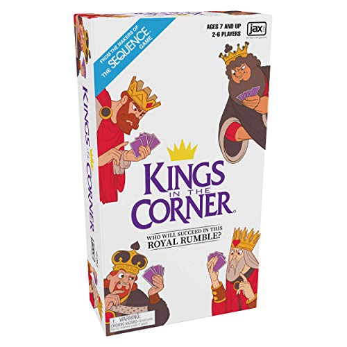 Kings in the Corner  The Traditional Gameplay of Solitaire with a Twist for the Whole Family