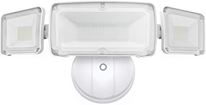 LEPOWER 3500LM Dusk to Dawn LED Security Lights Outdoor, 35W Super Bright Flood Light..