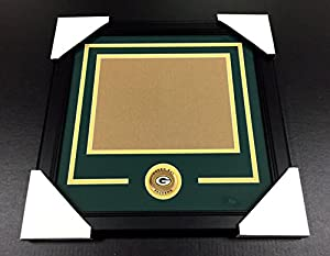 GREEN BAY PACKERS Medallion Frame Kit 8x10 Photo Double Mat HORIZONTAL
